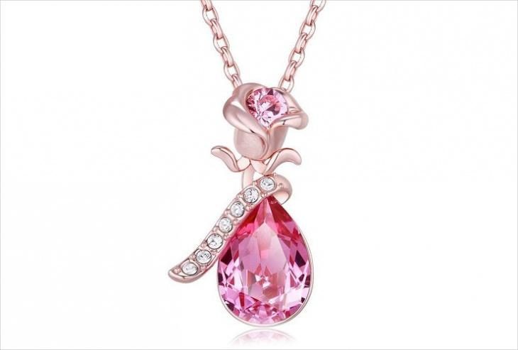 crystal drop pendant design