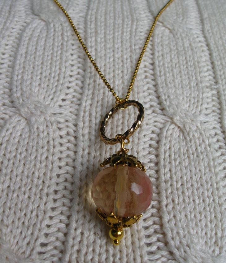 glass bead pendant design