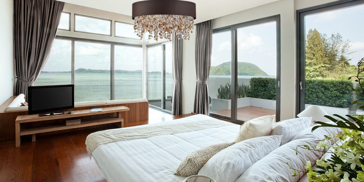 ocean view bedroom design
