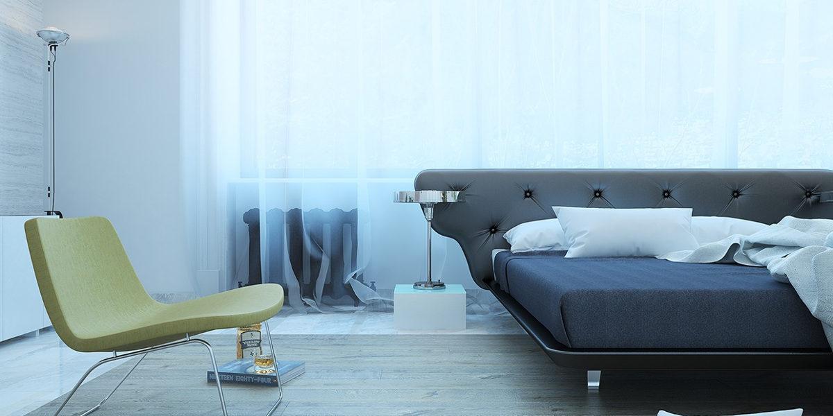 Sleek and Elegant Bedroom Design