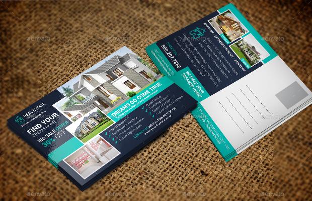 Real Estate Agent Postcard
