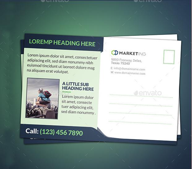 Corporate Marketing Postcard