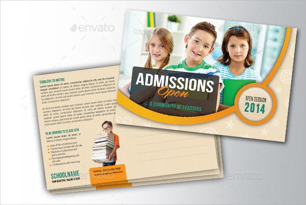 School Promotion Postcard