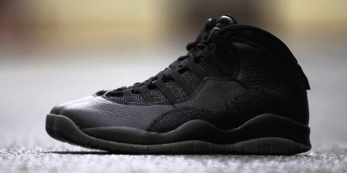 "air jordan 10 retro ""ovo"" black rm2000"