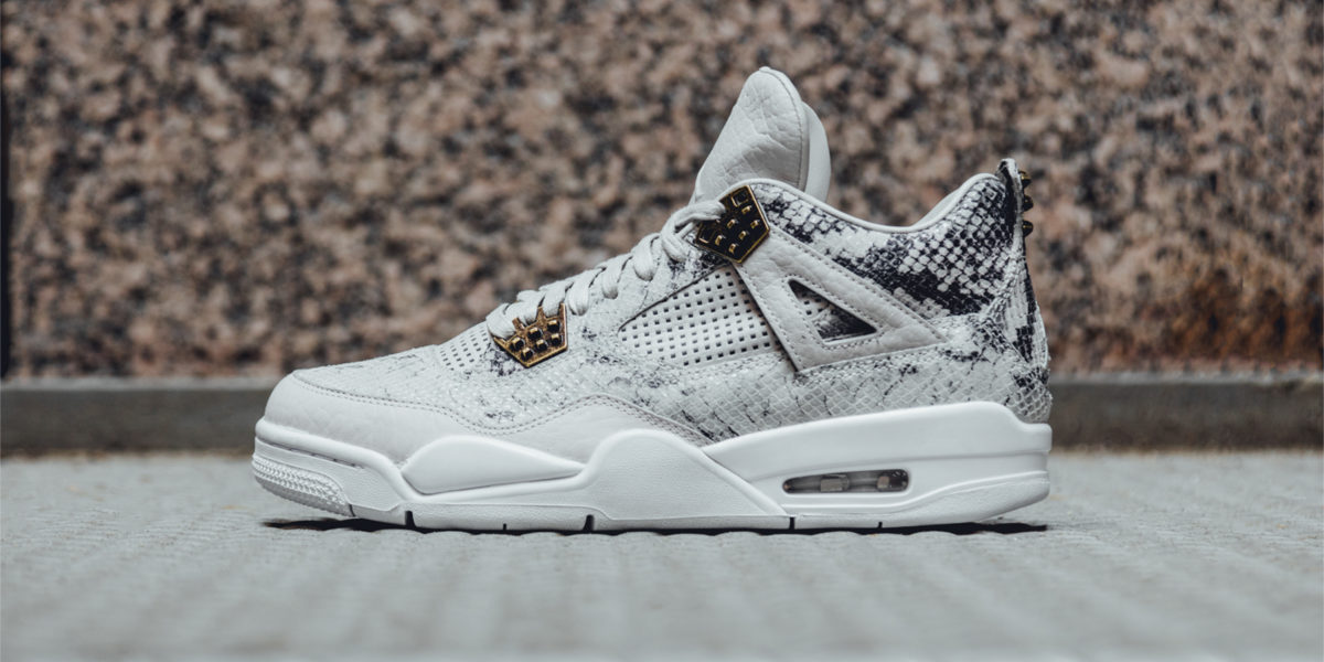 air jordan 4 retro snakeskin
