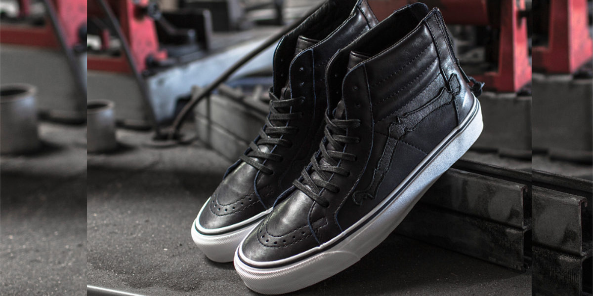 "vans vault x blends sk8 hi reissue zip lx ""og"" 1013"