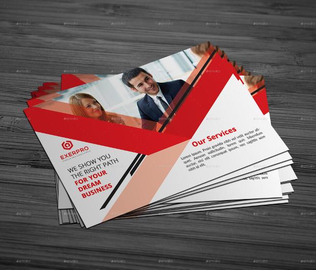 Creative Corporate Postcard