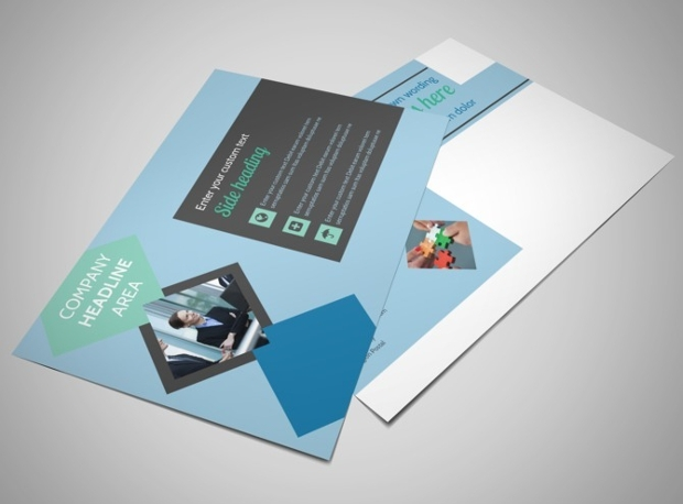 Corporate Business Consulting Postcard