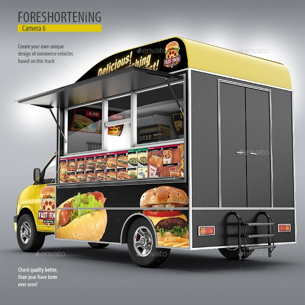 Cargo Van Food Truck