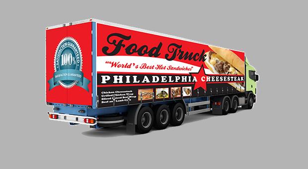 billboard truck mockup