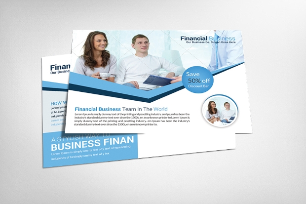 Business Company Postcards