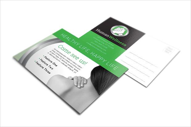 Mutlipurpose Healthcare Postcard