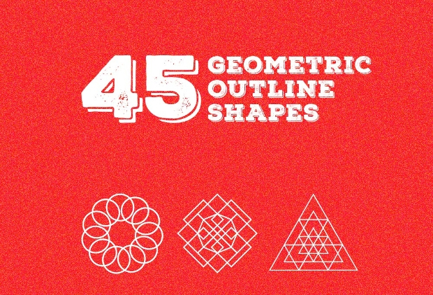 Outline Geometric Shapes