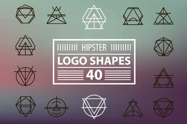 Hipster Logo Shapes