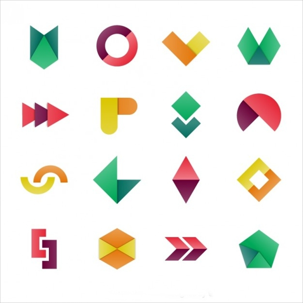 Colorful Geometric Shapes