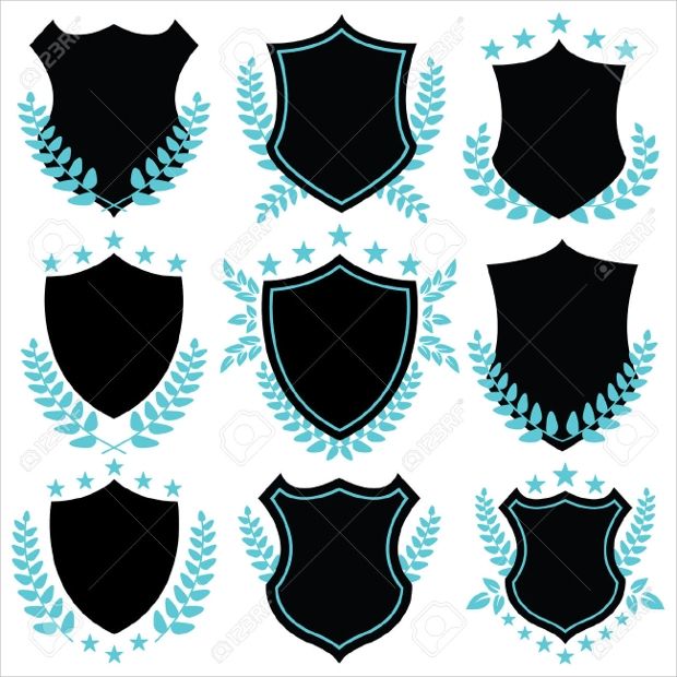 Vintage Shield Shapes