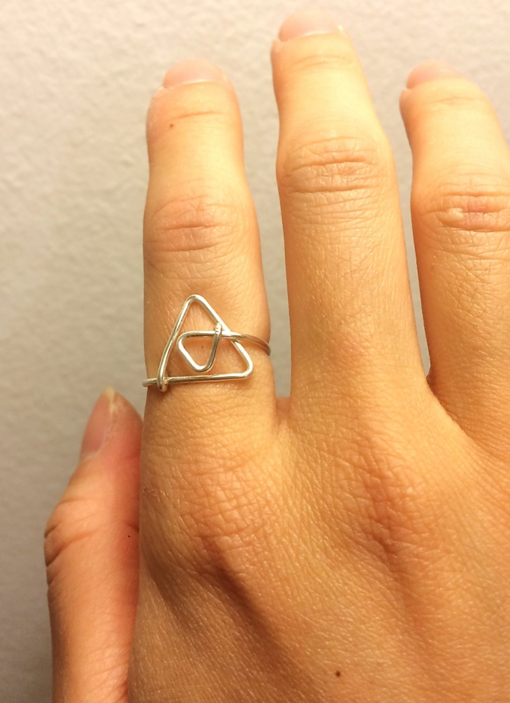 zelda triforce ring