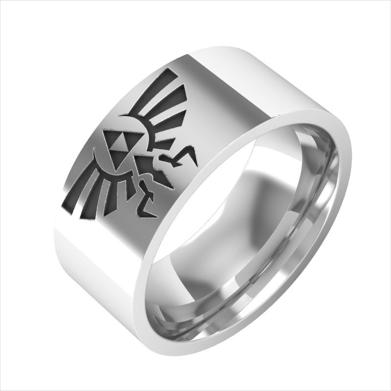 sterling silver zelda ring