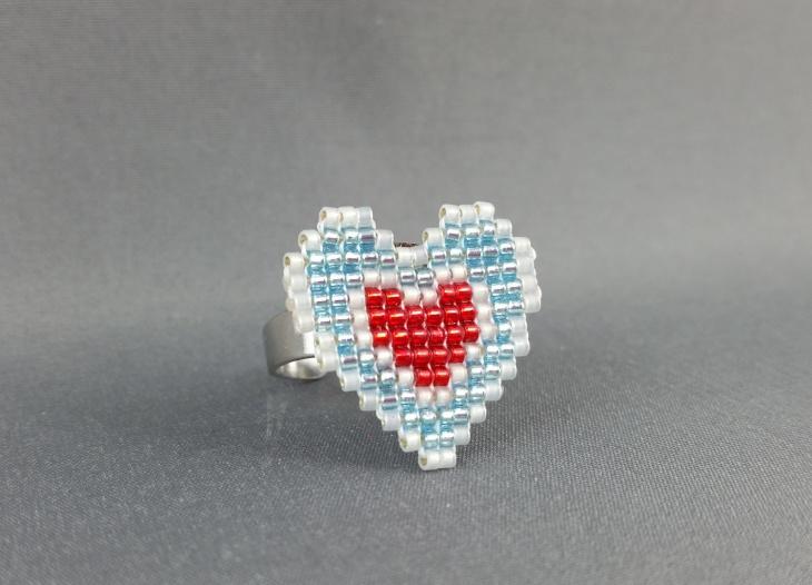 Zelda Heart Ring