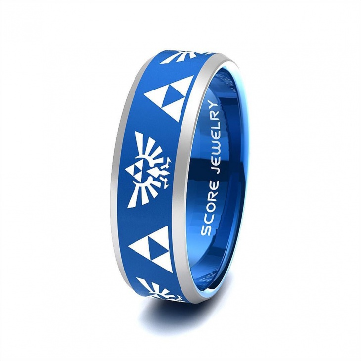 awesome zelda band ring idea