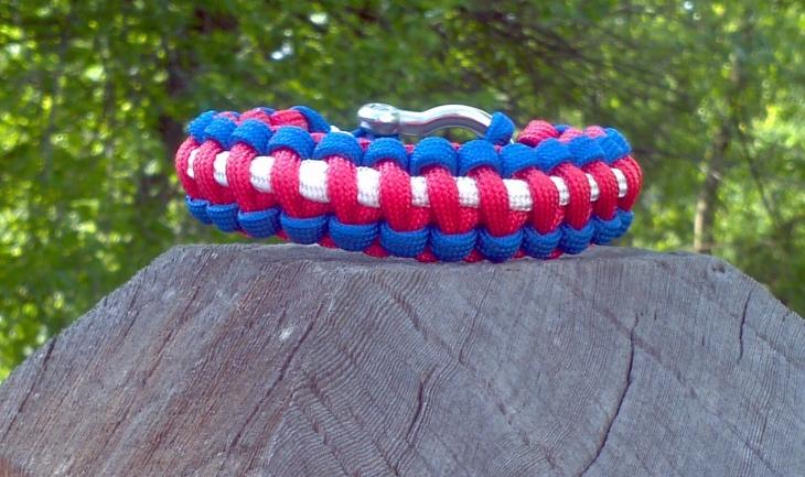 camo paracord bracelet design2