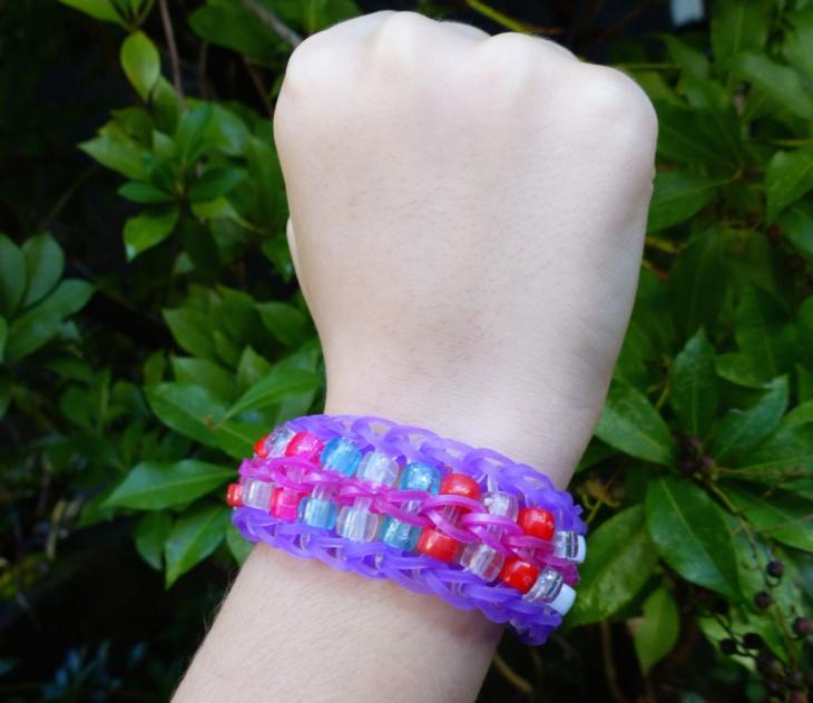 rainbow loom bracelet design