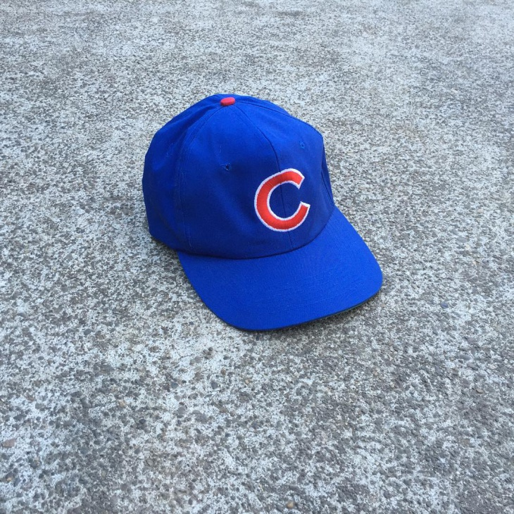 Blue Baseball Hat Idea