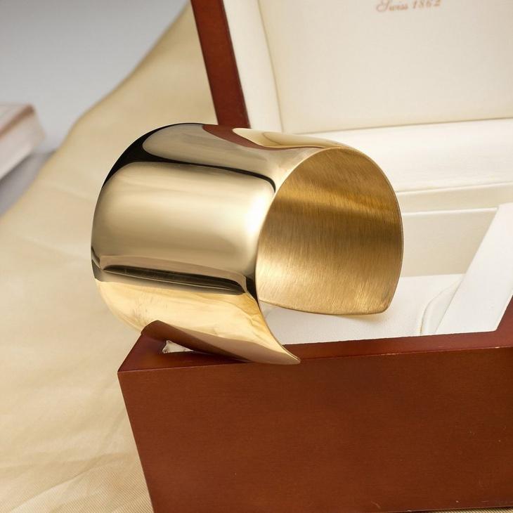 gold cuff bracelet design