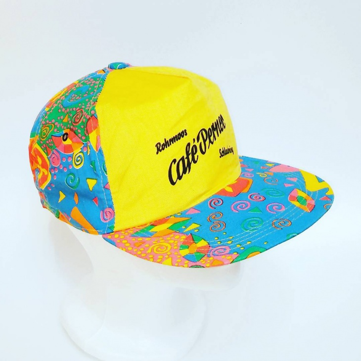 Neon Baseball Hat Idea