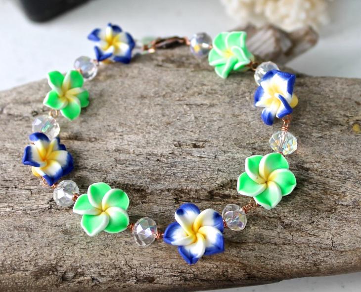hawaiian ankle bracelet design