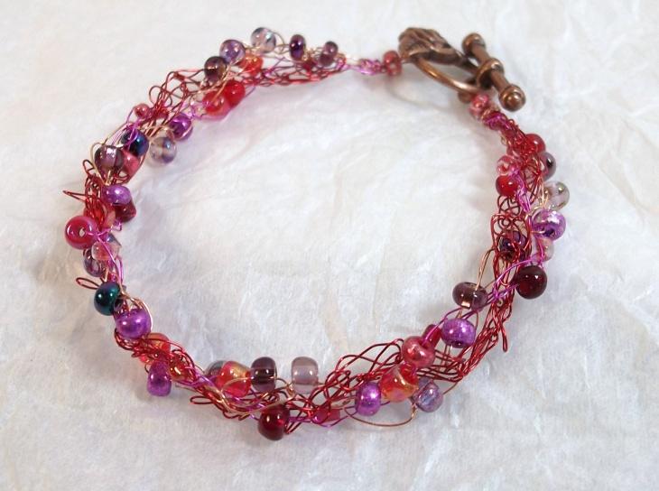 braided wire bracelet design