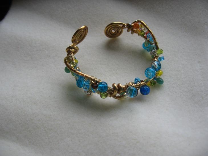 beaded cuff bracelet design
