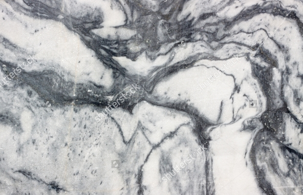Realistic White Marble Texture