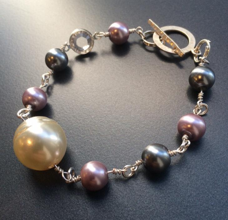 handmade crystal bracelet design