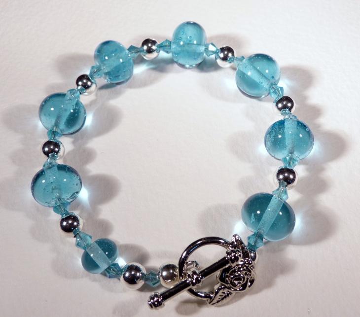 crystal ball bracelet design