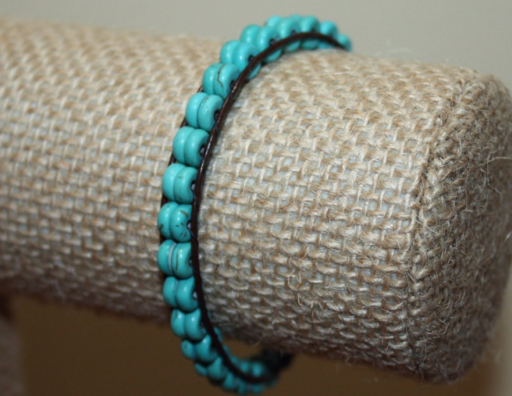 turquoise wrap bracelet design