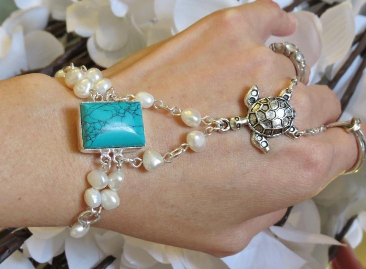 turquoise slave bracelet design