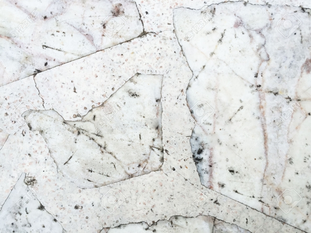 Old White Grunge Marble Texture