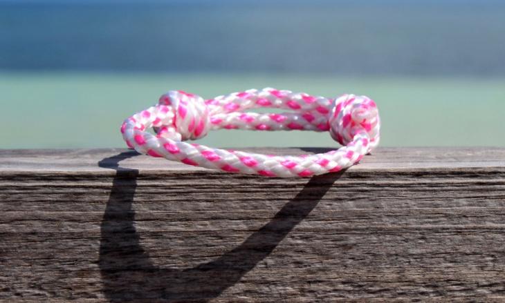 braided rope bracelet design