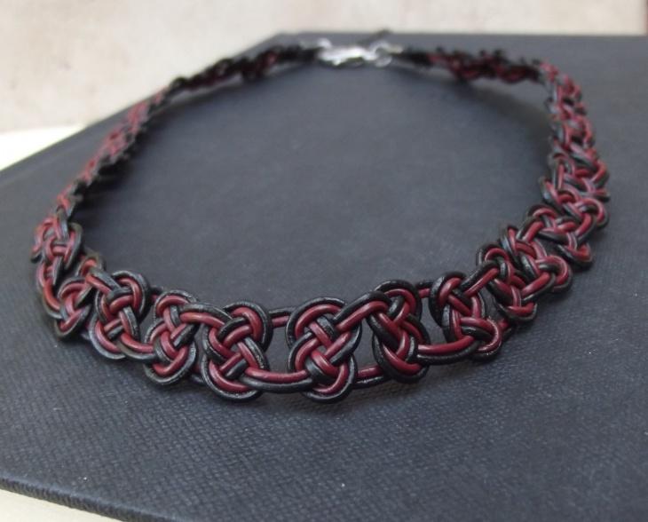 knot choker necklace idea