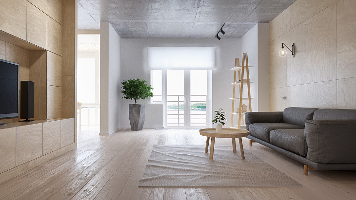minimalist apartment interior design