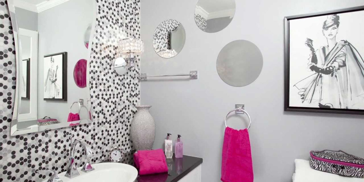 color pop bathroom