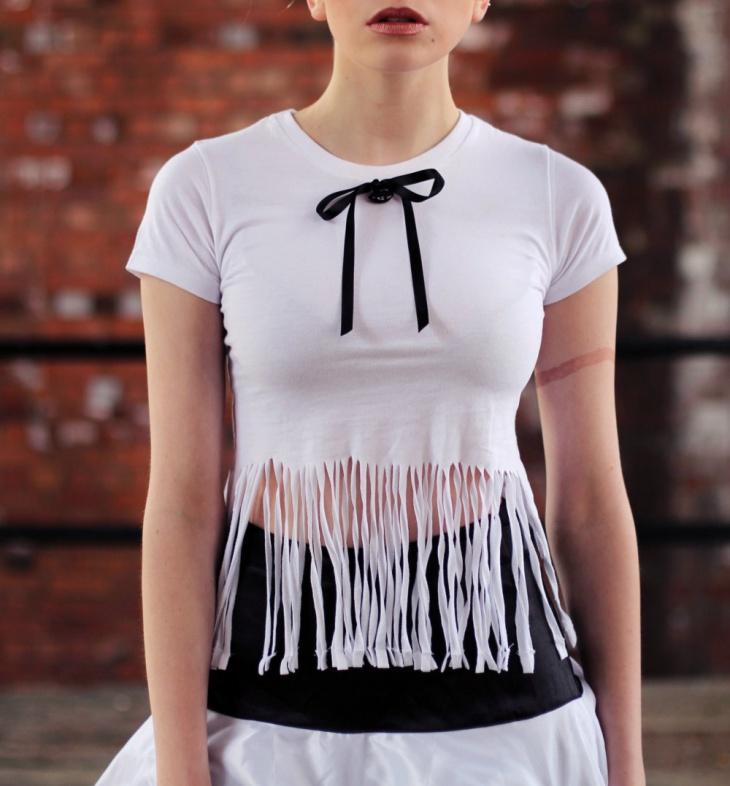 tassel fringe t shirt