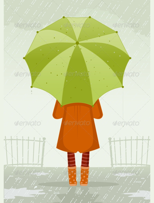 High Quality Rainy Day Vector
