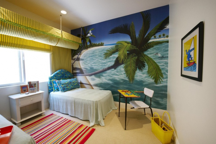 childrens beach themed bedroom