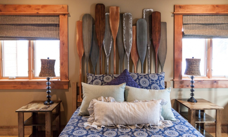 rustic beach theme bedroom