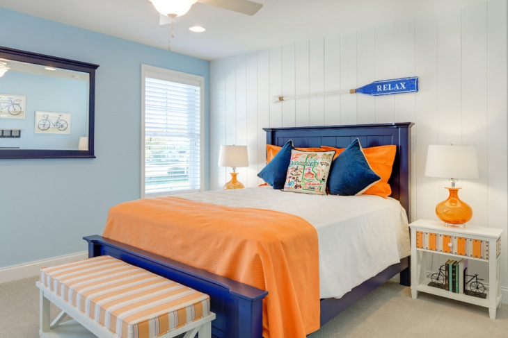 beach theme guest bedroom