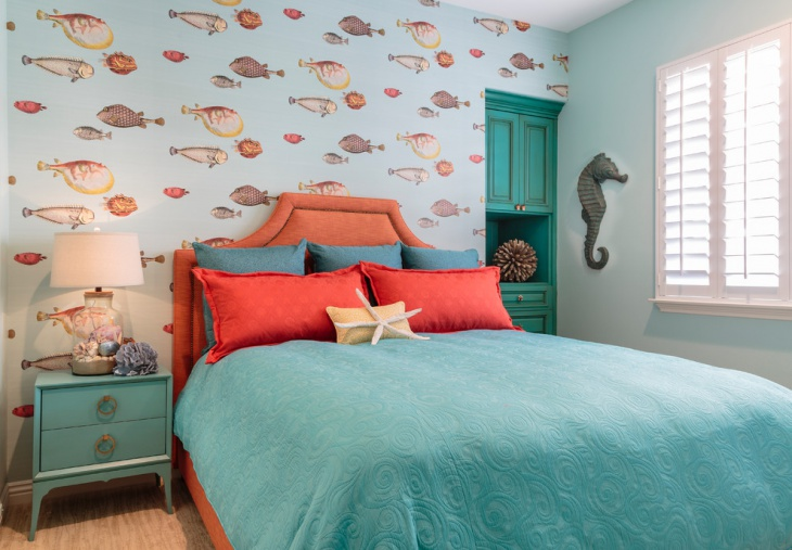 creative beach theme bedroom