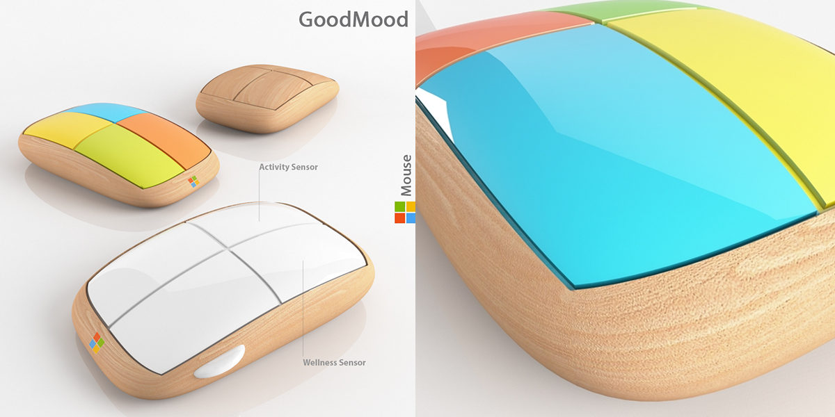 goodmood mouse for microsoft by evgeni leonov
