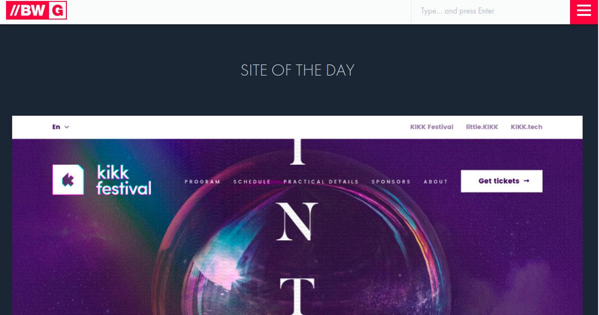 best website gallery